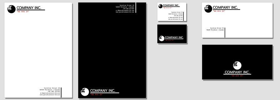 Ci Set 061 Flat Branding Brand Identity -  My Stationery New Branding