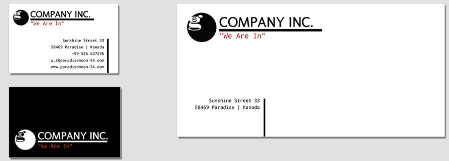 Ci Set 061 Envelope Bcard Branding Brand Identity -  My Stationery New Branding