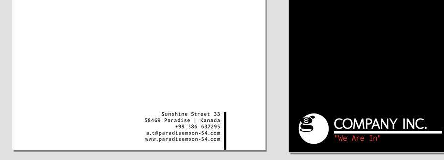 Ci Set 061 Letterhead B Branding Brand Identity -  My Stationery New Branding