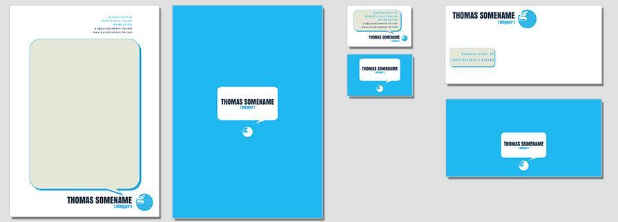 Ci Set 062 Flat Branding Brand Identity -  My Stationery New Branding