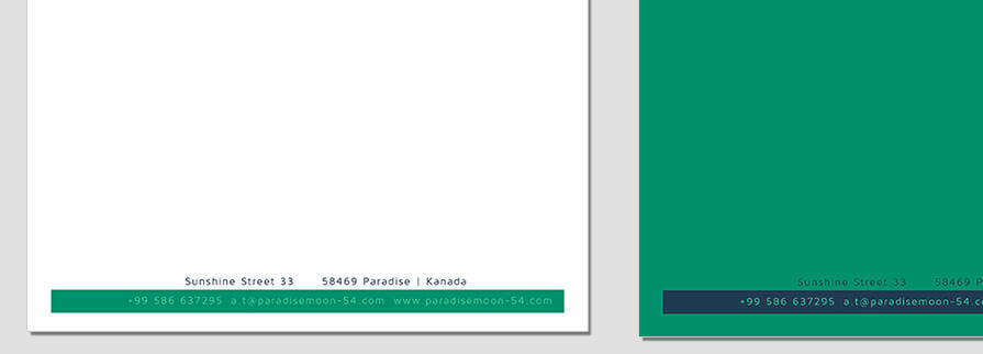 Ci Set 063 Letterhead B Branding Brand Identity - My Stationery New Branding