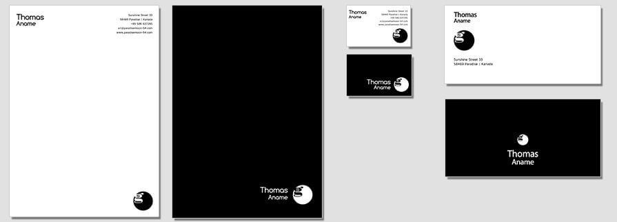 Ci Set 064 Flat Branding Brand Identity -  My Stationery New Branding