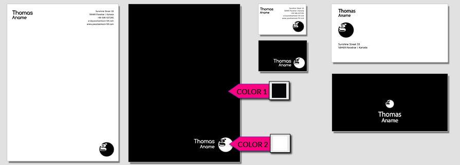 Ci Set 064 Color Branding Brand Identity -  My Stationery New Branding