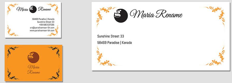Ci Set 065 Envelope Bcard Branding Brand Identity -  My Stationery New Branding
