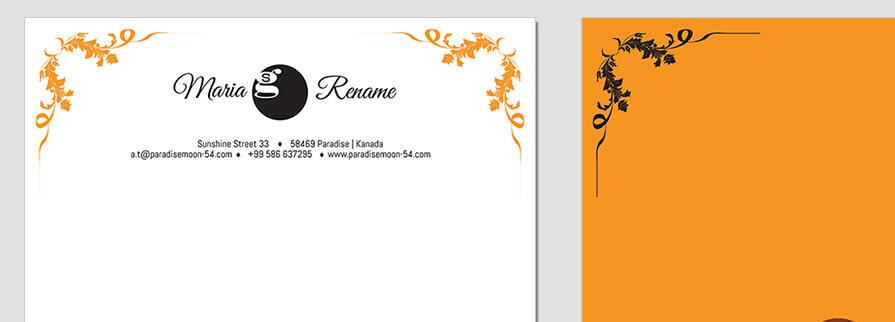 Ci Set 065 Letterhead T Branding Brand Identity -  My Stationery New Branding