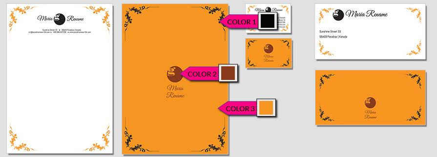 Ci Set 065 Color Branding Brand Identity -  My Stationery New Branding