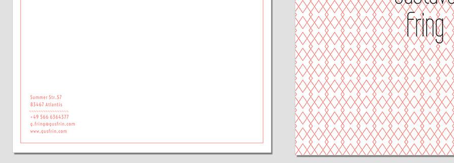 Ci Set 066 Letterhead B Corporate Identity Geschäftsausstattung Paket Pop Art Individual Art Selbst Vermarktung Start Up