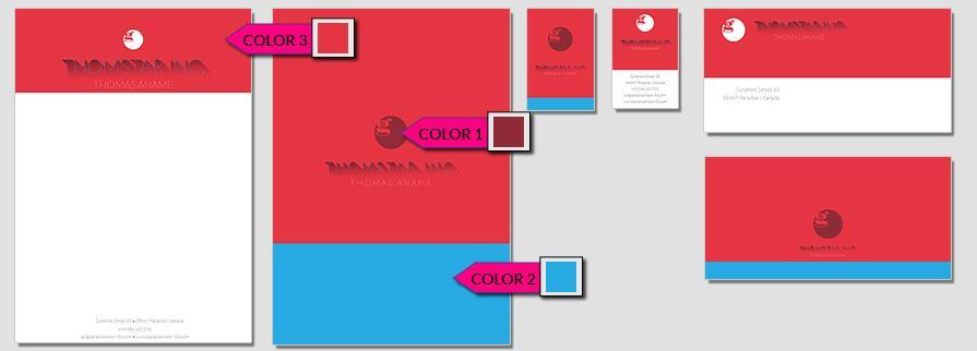 Ci Set 067 Color Das Start Up CI Set Für Existenzgründer Firmen Privatpersonen