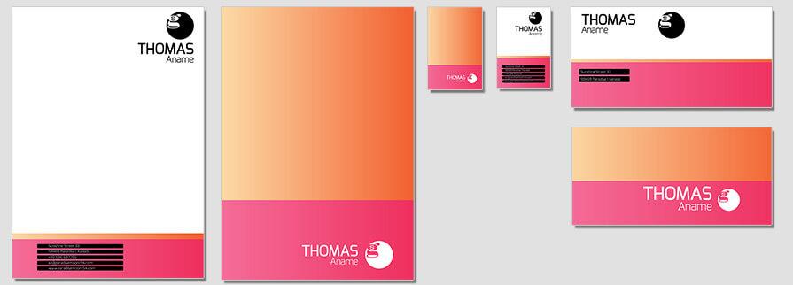 Ci Set 068 Flat Templates Deine Ci Corporate Identity Logo Typo Sign Branding Geschäftsausstattung