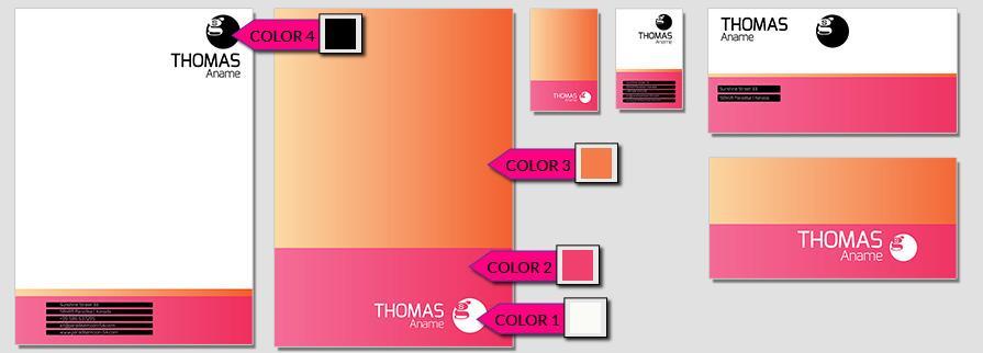 Ci Set 068 Color Templates Deine Ci Corporate Identity Logo Typo Sign Branding Geschäftsausstattung