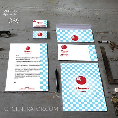 Corporate Identity 069 Www.ci-generator.com Design Start Up CI Set For Any Business