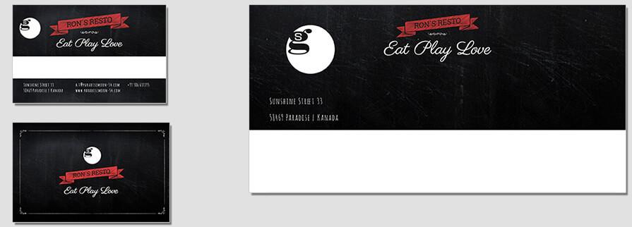 Ci Set 070 Envelope Bcard Firmen Corporate Identity Geschäftsausstattung Word Writer Powerpoint Impress