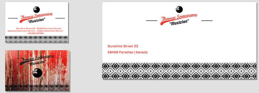 Ci Set 076 Envelope Bcard Corporate Identity Geschäftsausstattung Paket Marketing Tools Logo Design