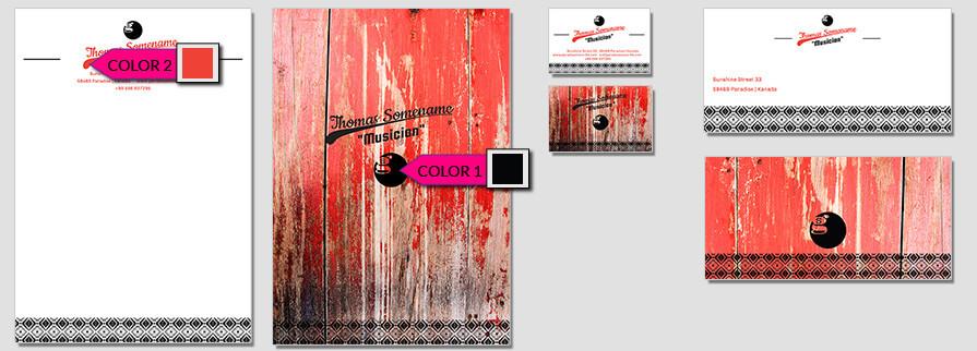 Ci Set 076 Corporate Identity Geschäftsausstattung Paket Marketing Tools Logo Design