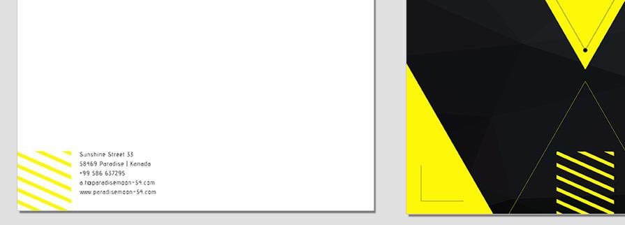 Ci Set 078 Letterhead B Corporate Identity Geschäftsausstattung Paket Marketing Tools Logo Design