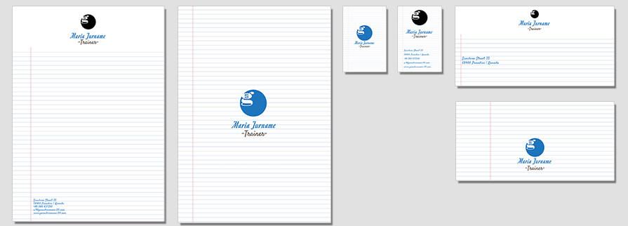 Ci Set 079 Flat Corporate Identity Geschäftsausstattung Paket Marketing Tools Logo Design