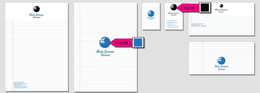 Ci Set 079 Color Corporate Identity Geschäftsausstattung Paket Marketing Tools Logo Design