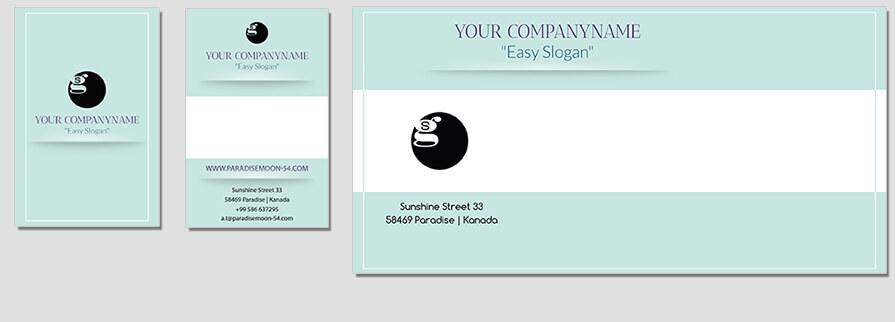 Ci Set 082 Envelope Bcard Corporated Identity Stationery Package Branding Marketing Logo Design