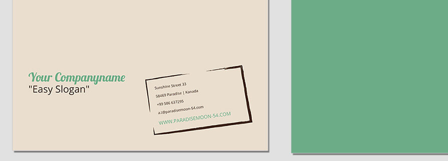 Ci Set 083 Letterhead B Corporated Identity Stationery Package Branding Marketing Logo Design