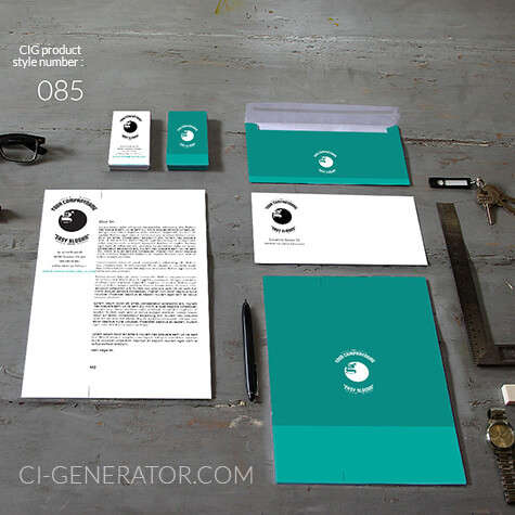 Corporate Identity 085 Www.ci-generator.com Design Start Up CI Set For Any Business
