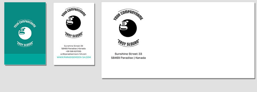 Ci Set 085 Envelope Bcard Corporated Identity Stationery Package Branding Marketing Logo Design