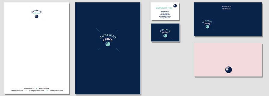 Ci Set 086 Flat Firmen Corporate Identity Geschäftsausstattung Word Writer Powerpoint Impress