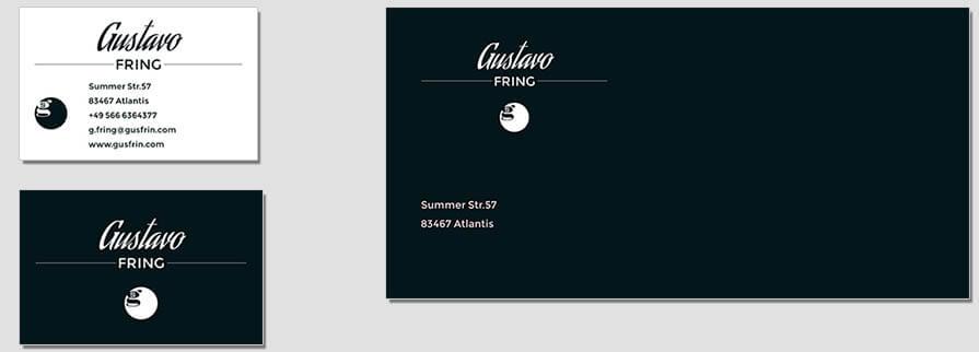 Ci Set 087 Envelope Bcard Firmen Corporate Identity Geschäftsausstattung Word Writer Powerpoint Impress