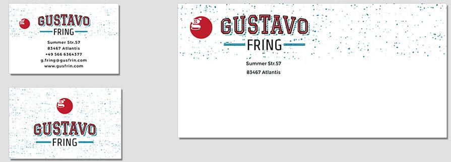 Ci Set 093 Company Corporate Identity Stationery Set Mock Up Layouts Design Service Pop Art Delaunay Dot