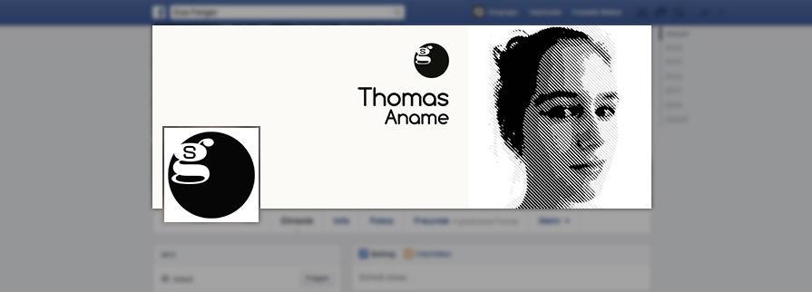 Ci Set 094 Facebook Company Corporate Identity Stationery Set Mock Up Layouts Design Service Pop Art Delaunay Dot