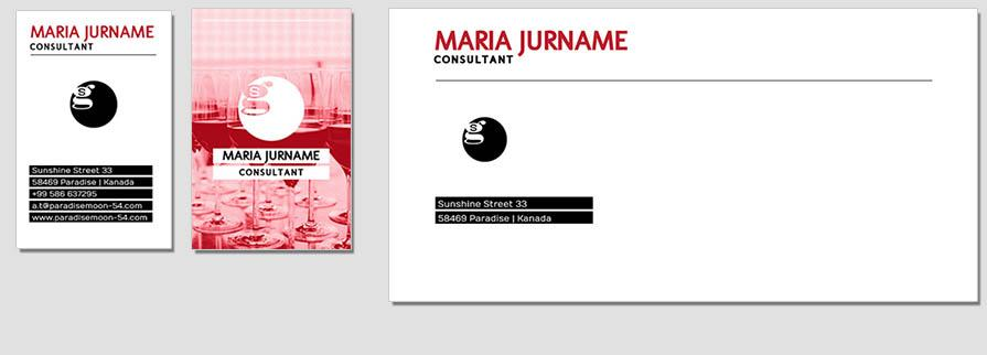 Ci Set 097 Envelope Bcard Corporated Identity Stationery Package Pop Art Individual Art Self Branding Entrepreneur Hip Hipster