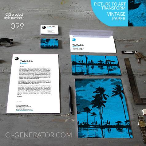 Corporate Identity 099 Www.ci-generator.com Design Start Up CI Set For Any Business