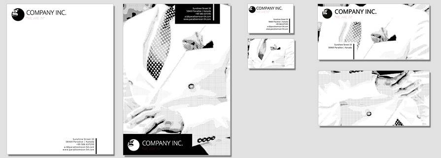 Corporate Identity Www.ci-generator.com Design Start Up CI Set For Any Business