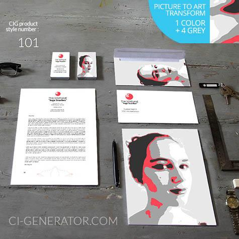 Corporate Identity 101 Www.ci-generator.com Design Start Up CI Set For Any Business