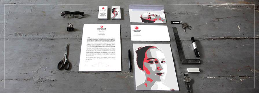 Ci Set 101 Cover Corporated Identity Stationery Package Pop Art Individual Art Self Branding Entrepreneur Hip Hipster
