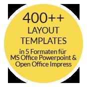corporate design set stationery 400 templates