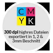corporate design set stationery beschnitt cmyk be free