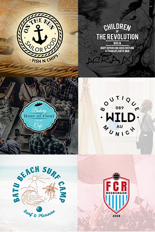 sign logo design ci generator corporate branding low cost