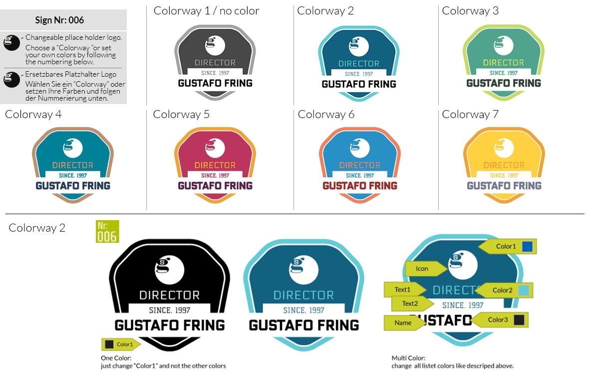 006 Make Look Branding Logo Smal Colorways 001