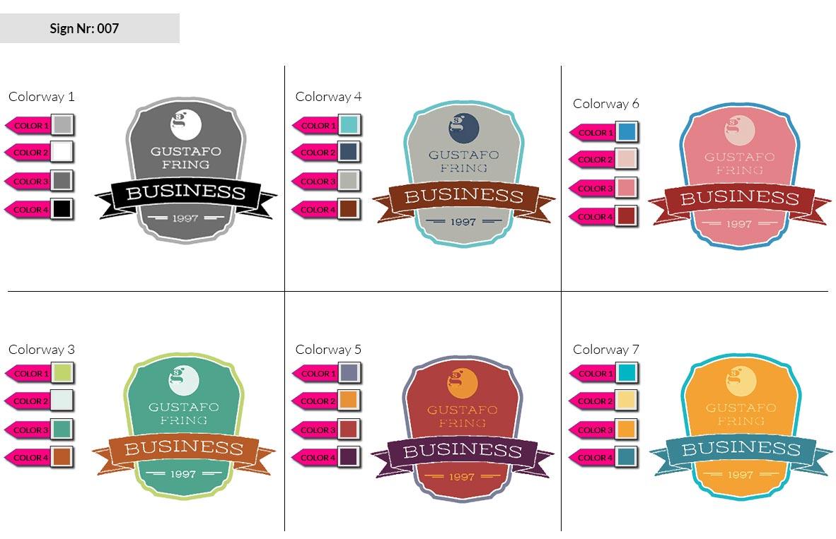 007 Make Look Branding Logo Smal Colorways 001 2