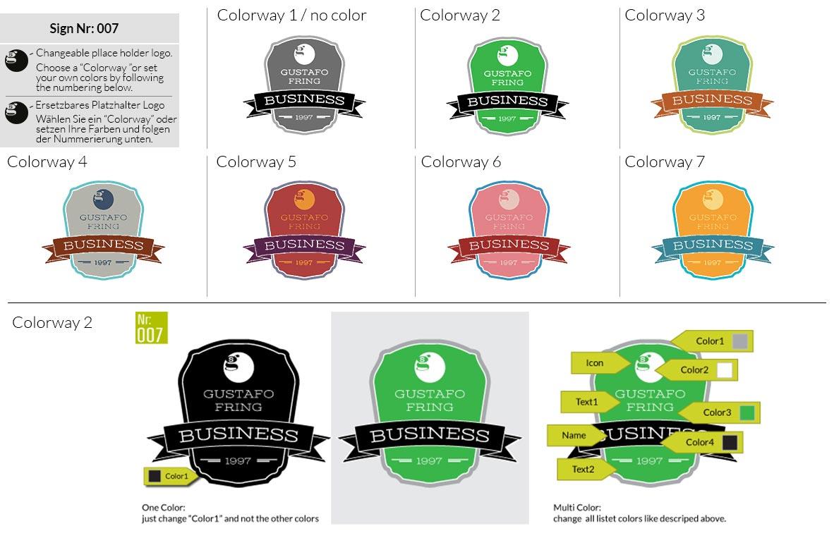 007 Make Look Branding Logo Smal Colorways 001