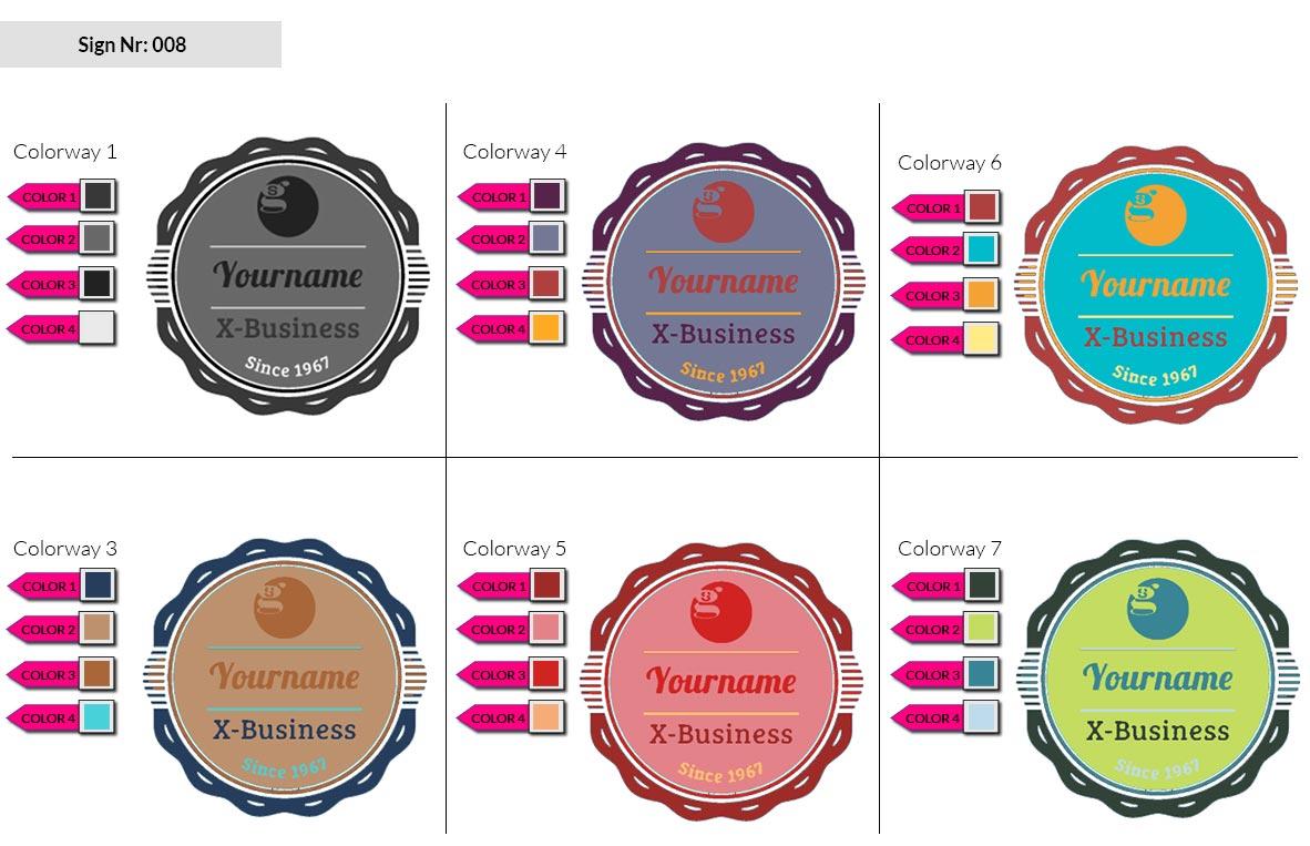 008 Make Look Branding Logo Smal Colorways 001 2
