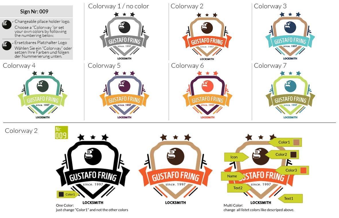 009 Make Look Branding Logo Smal Colorways 001