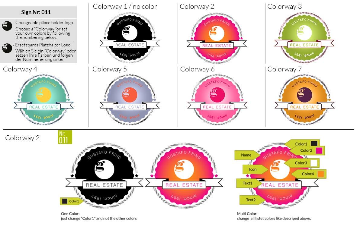 011 Make Look Branding Logo Smal Colorways 001