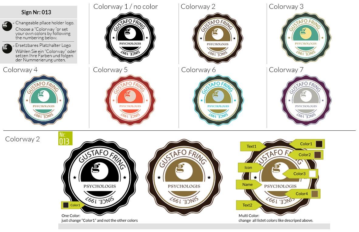 013 Make Look Branding Logo Smal Colorways 001