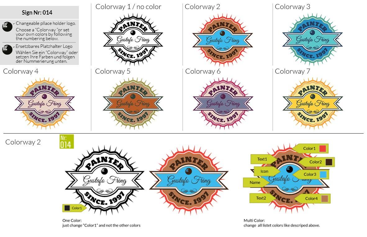 014 Make Look Branding Logo Smal Colorways 001