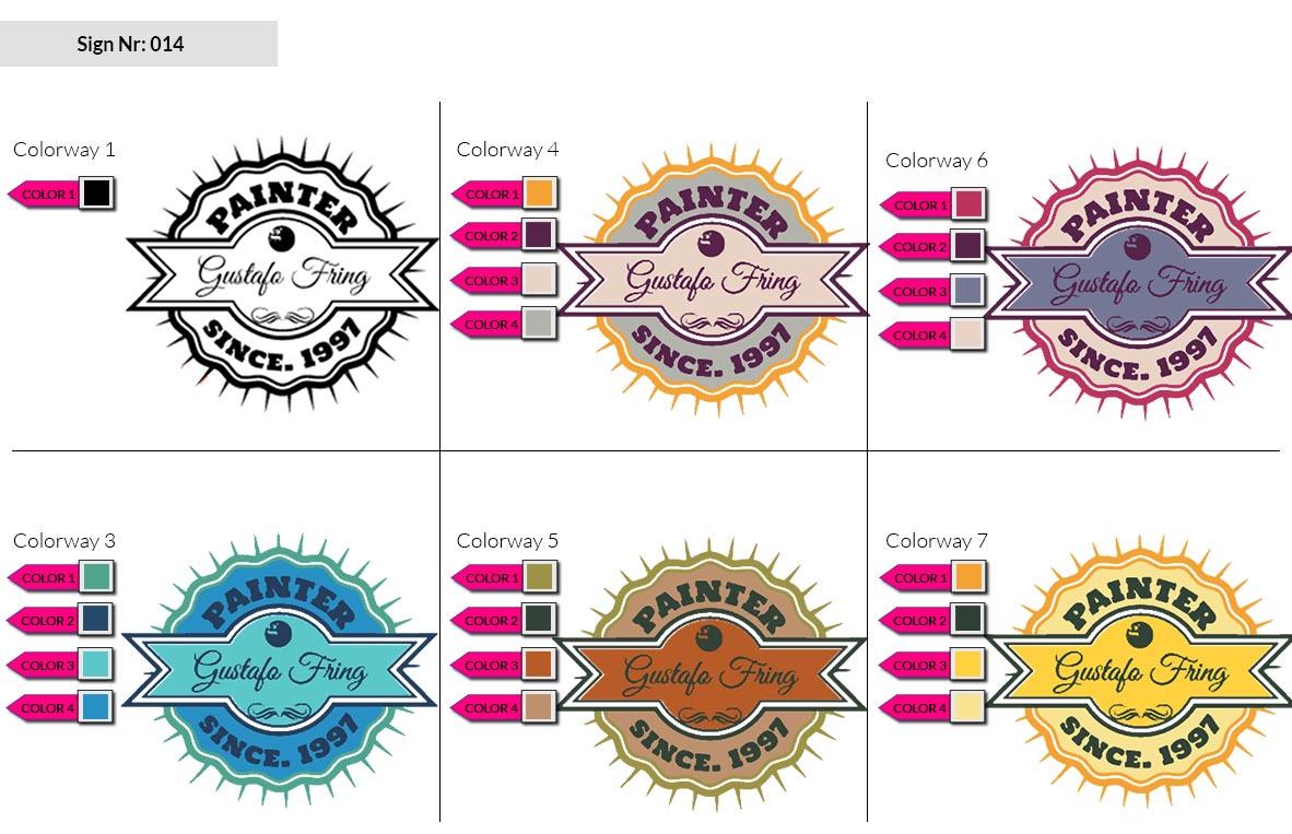 014 Make Look Branding Logo Smal Colorways 002