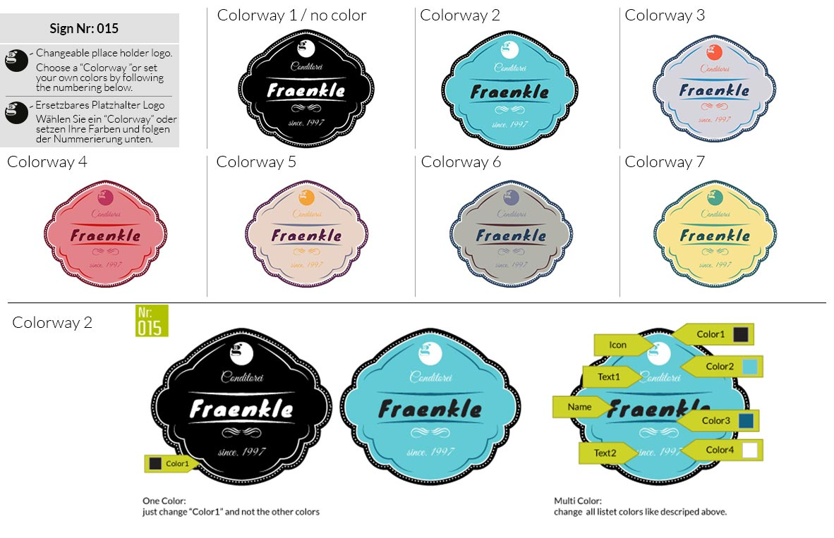 015 Make Look Branding Logo Smal Colorways 001
