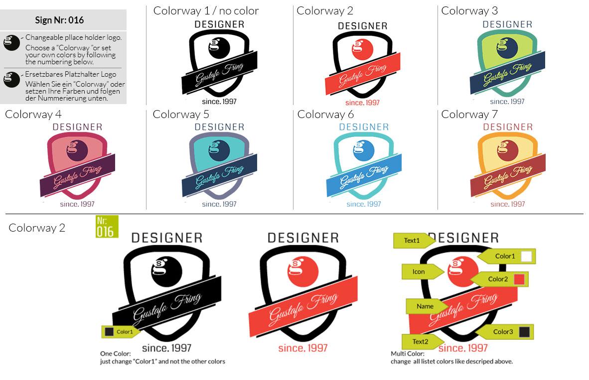 016 Make Look Branding Logo Smal Colorways 001