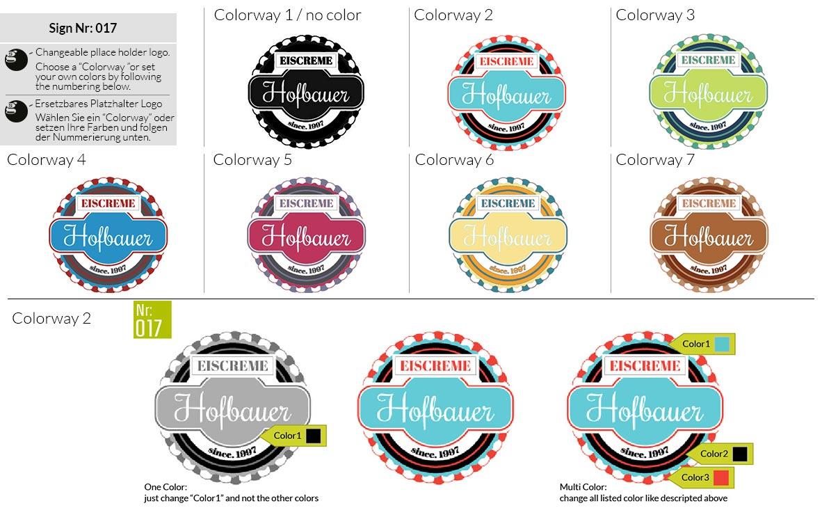 017 Make Look Branding Logo Smal Colorways 001