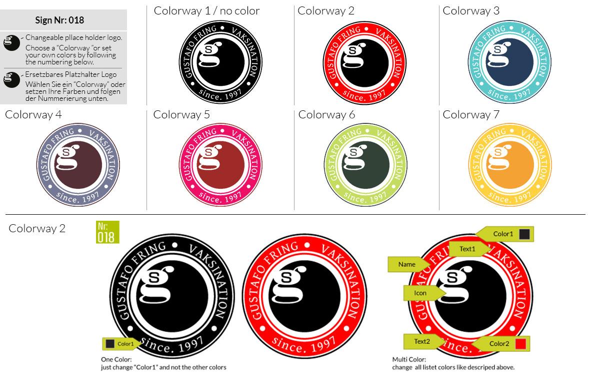 018 Make Look Branding Logo Smal Colorways 001